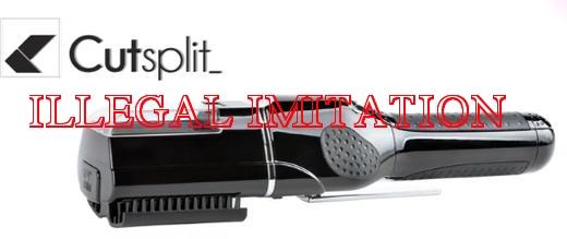 CUT SPLIT - 安物の模造品、違法な偽造品